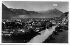 Interlaken-Unterseen und die Aare 1931