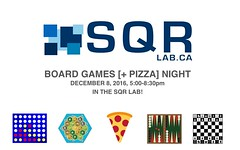 SQR Lab Board Games Night (2016)