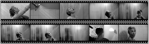 La escena de la ducha