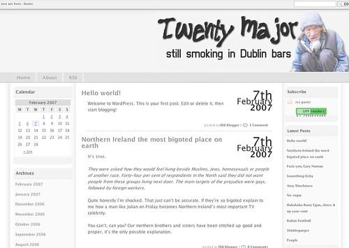 Twenty moves to WordPress
