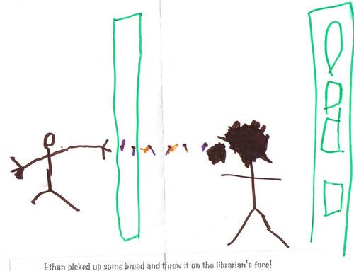 What children think of librarians...