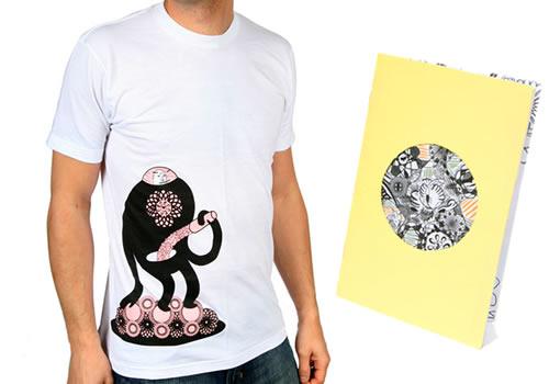 Galactic Milkshake Shirt +zine
