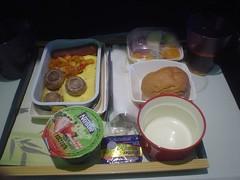 11.國泰香港吉隆坡航線的飛機餐