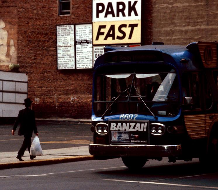 Midtown, New York, July 1980.