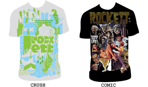 Rockket T-Shirts 2007