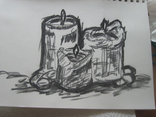 Candle sketch 4
