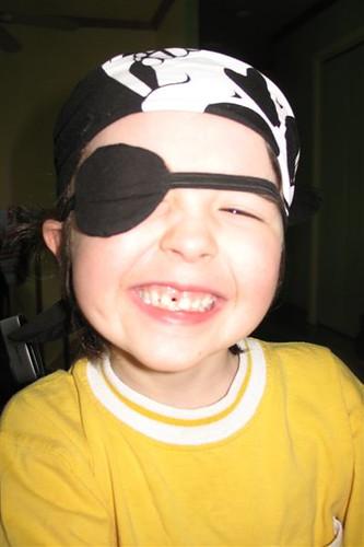 a pirate says... ARRRR!