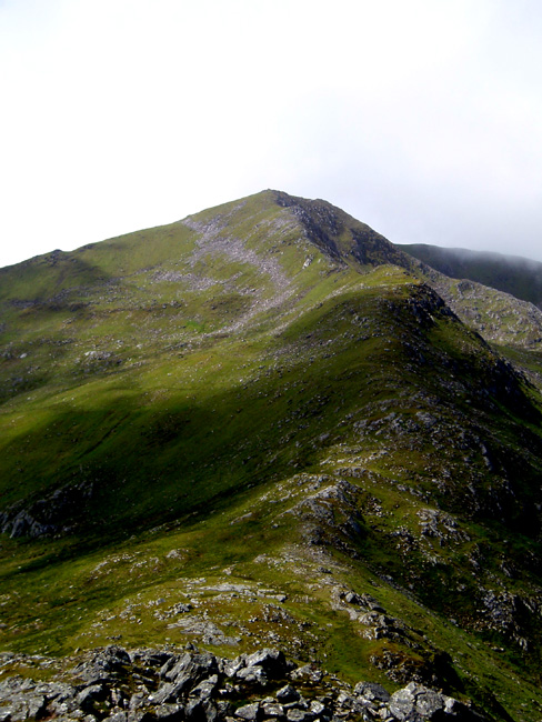 Mullach nan Dheiragain from ridge 2