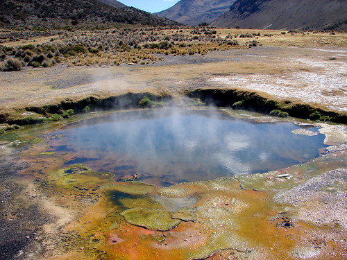 Bolivian Hot Spring