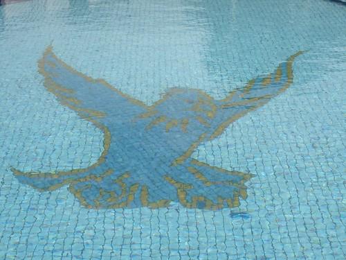 Rydges Eagle Hawk Hotel Pool Mosaic