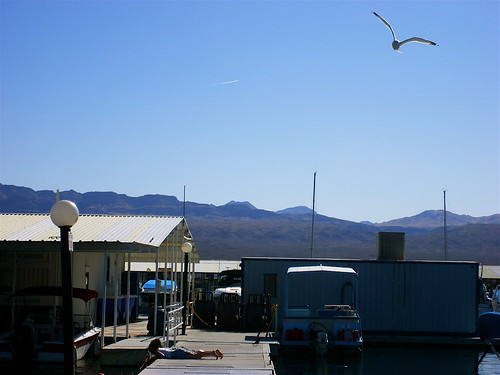 Marina of Echo Bay, Lake Mead