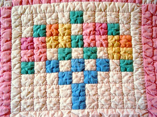 baby quilt detail