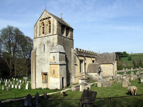 North Cerney, Gloucestershire, All Saints Church 01