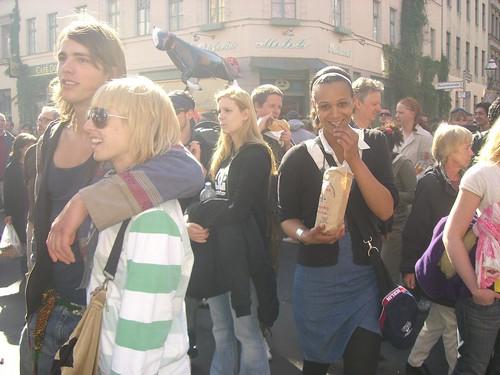 Berlin Germany:Kreuzberg 1th of May von Ihnen.