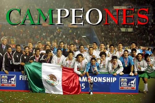 México Sub-17 campeón 2005