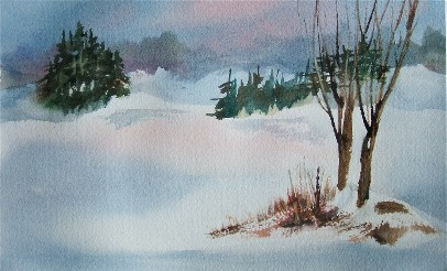 magenta snow2