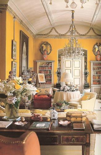 yellow parlor