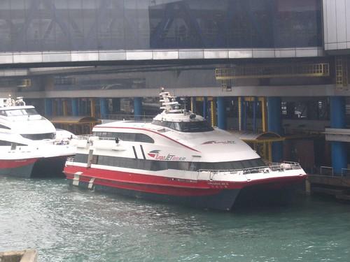 Ferry terminal going to Macau