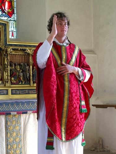 North Cerney, Gloucestershire - vestments