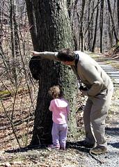 Elanor at the big birch