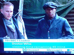 Ian Wright cameo on Doctor Who?