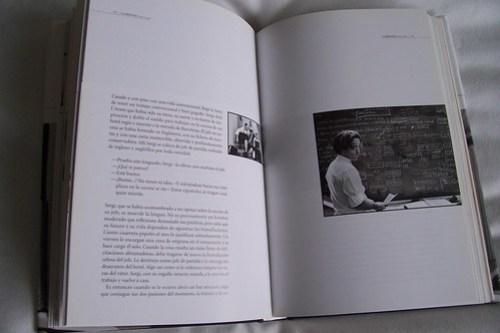 Un libro con una maquetación muy chula