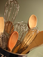 all whisks and spoons