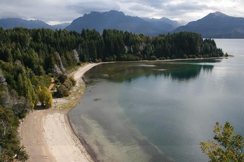 Panoramica desde mirador Isla Victoria