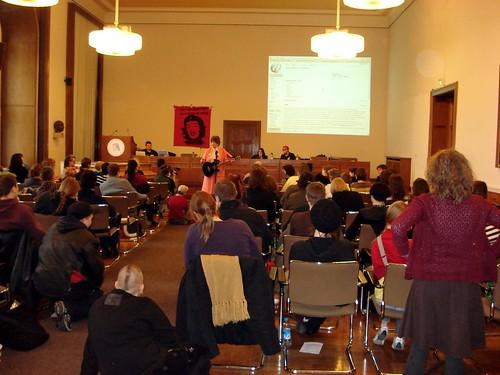 eröffnung des gender@wiki im senatssaal der humboldt-universität