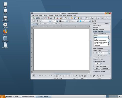 StarOffice Mockup of Nimbus