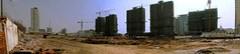 Development town parorama