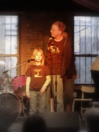(c) Hilltown Families - Bill & Ella from Spare the Rock, Spoil the Child at the Brooklyn Hootenanny