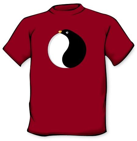 Camiseta Yinyan pingüino