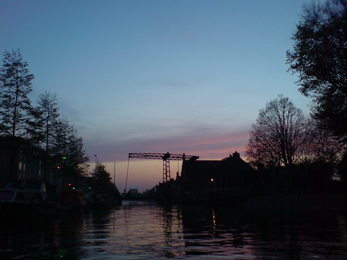 Sunset over Westerpark