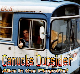 Canucks Outsider Alive in the Playoffs! Live Video Cast Announcement