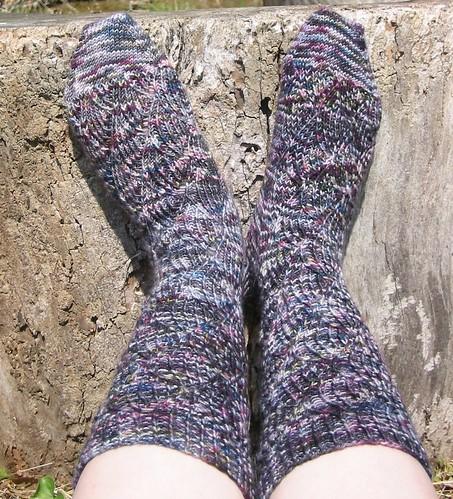 pot socks diff color