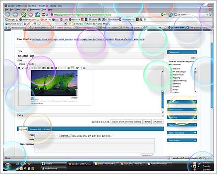 vista bubbles screensaver