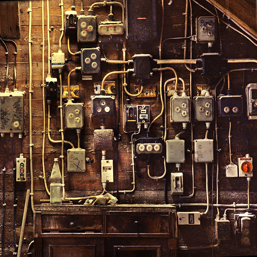Switches and fuses by zeitspuren, on Flickr