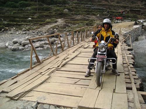Bridge Over The Mardi Khola