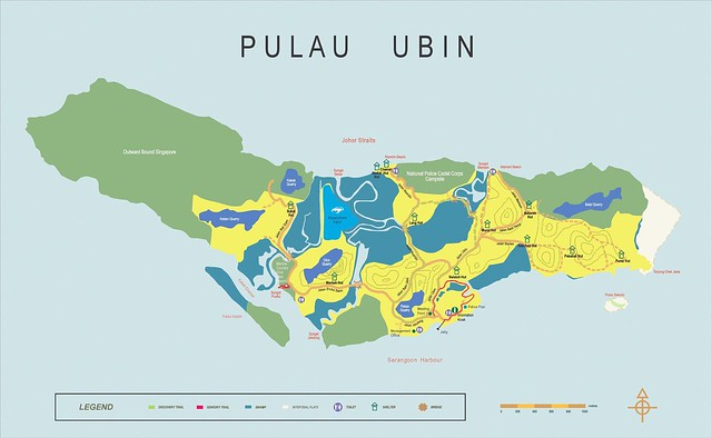 Image result for pulau ubin map