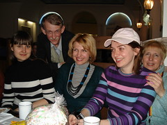Yulia with Art-talkers,April 5