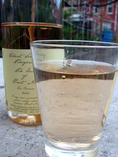 Robert Sinsky Vin Gris of Pinot Noir