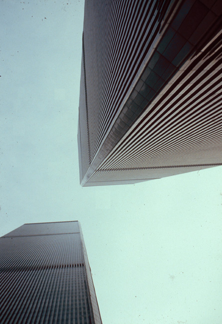 World Trade Centre, New York, July 1980.