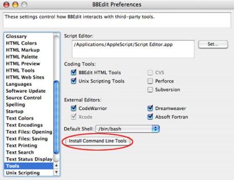It's All Text! Firefox extension: preparing BBEdit