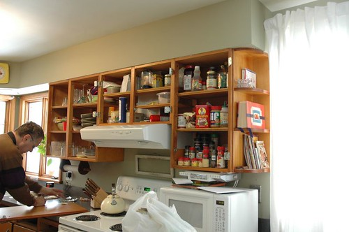 I should clean my cupboards out, no?