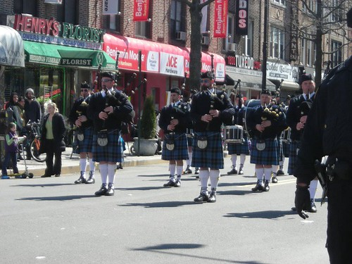 Our first bag pipers