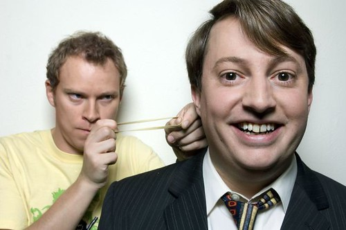 British Sitcom Peep Show Stars David Mitchell and Robert Webb