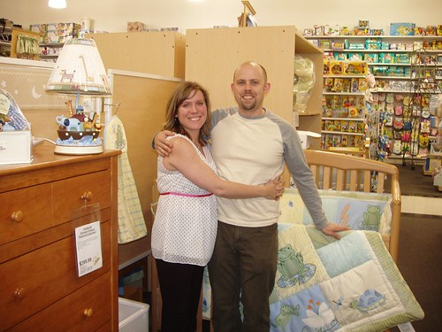 Our Grand Prize: Crib and Bedding Set