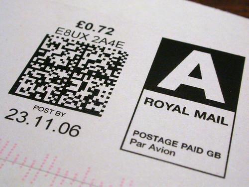 Royal Mail 耶