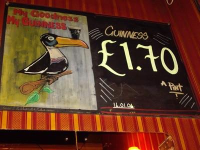 Anuncio de Guinness